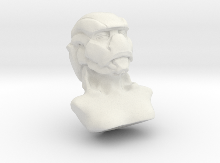Masked Woman 3d printed