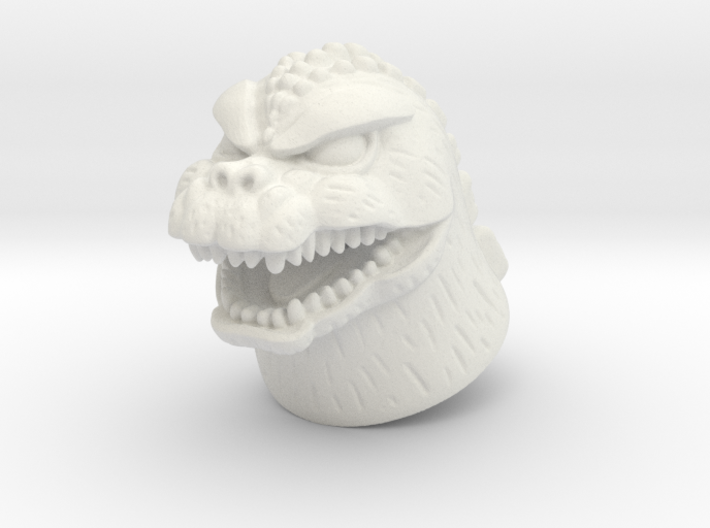 Showa Godzilla Minimate head 3d printed