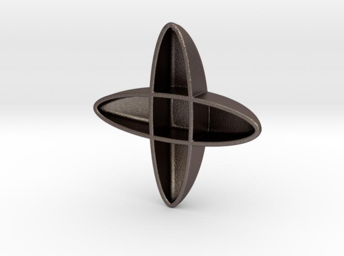 PENDANT CROSS FORM 3d printed