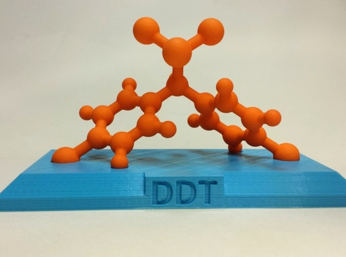 DDT 3d printed Actual print. Base not included.