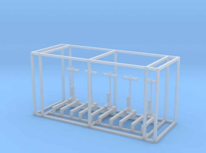 US Switch Stand Z Scale 3d printed