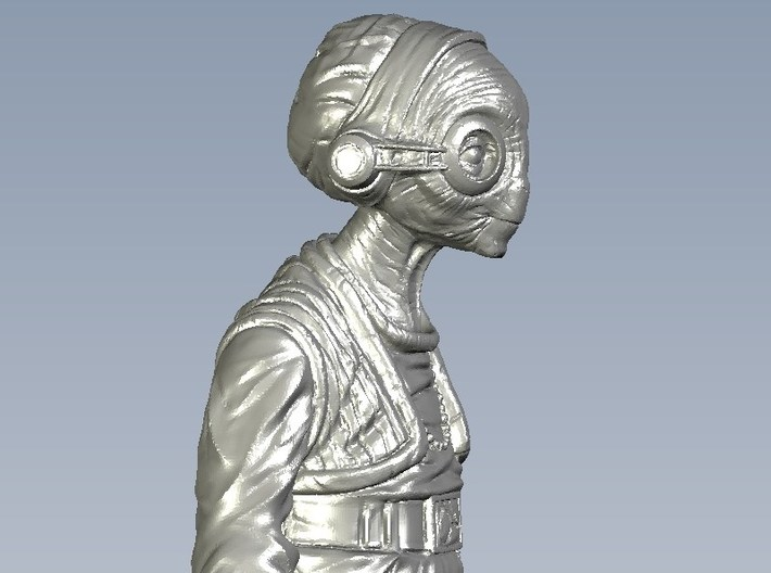 1/15 scale Star Wars Maz Kanata figure 3d printed