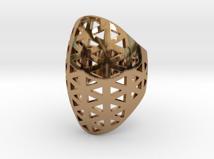 Vértice Ring - Size 7 3d printed