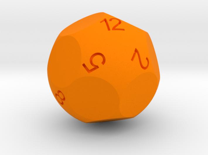 Alt D12 Sphere Dice 3d printed
