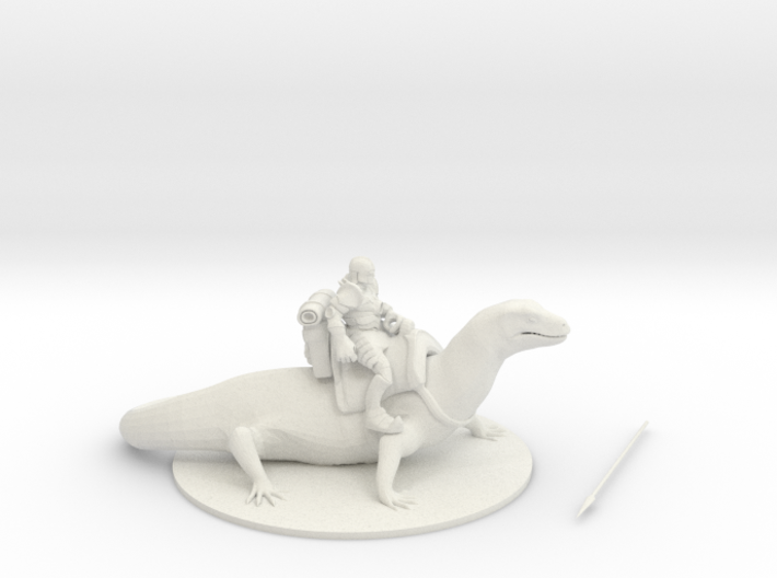 Elemental Flame Rider 3d printed