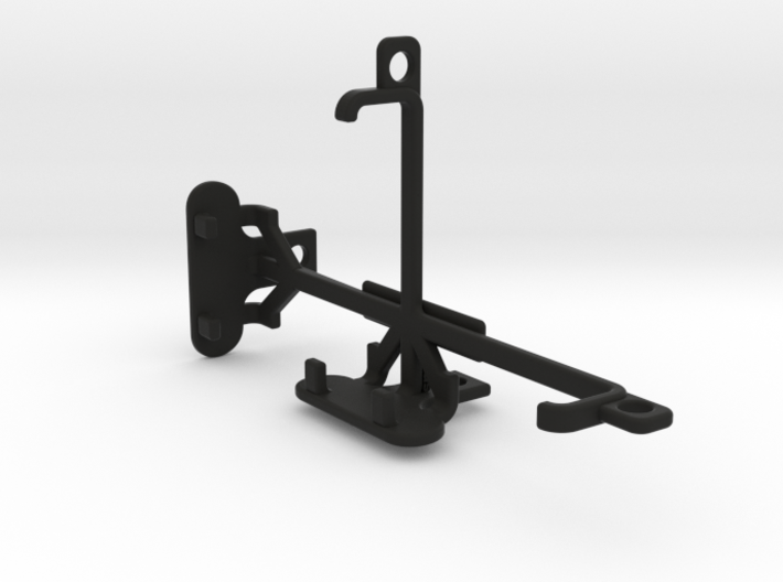 BLU Dash Music tripod & stabilizer mount 3d printed
