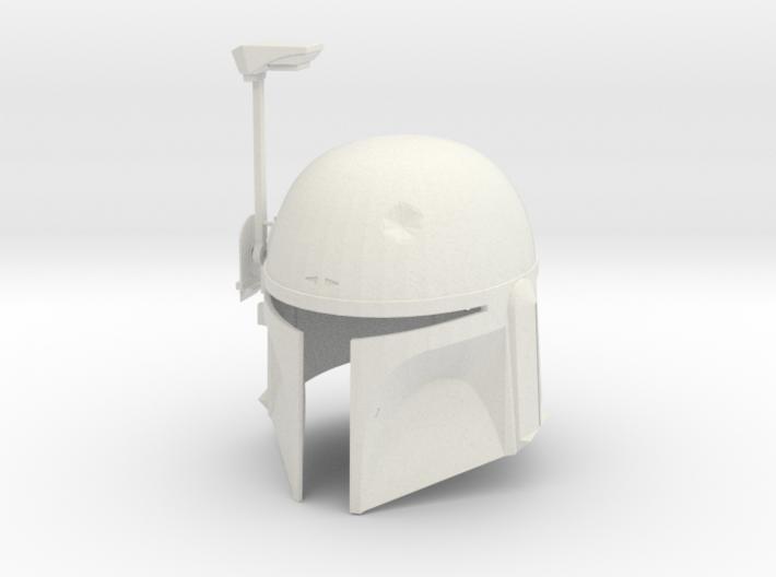 Boba Fett ESB Helmet 1/4th Scale 3d printed