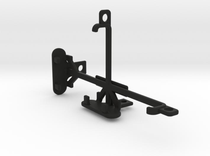 Lava Iris Atom X tripod & stabilizer mount 3d printed