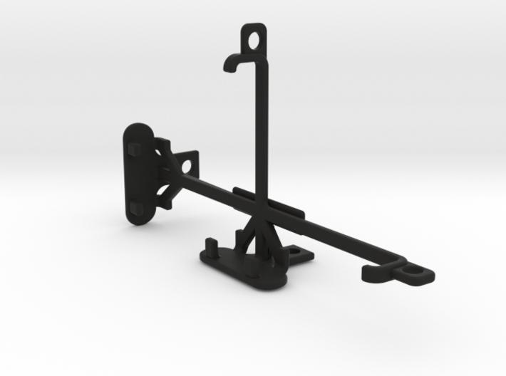 Lava Iris Fuel F2 tripod & stabilizer mount 3d printed