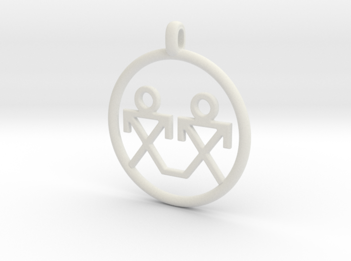 Brothers Symbols Native American Jewelry Pendant Wq8fe9r82 By