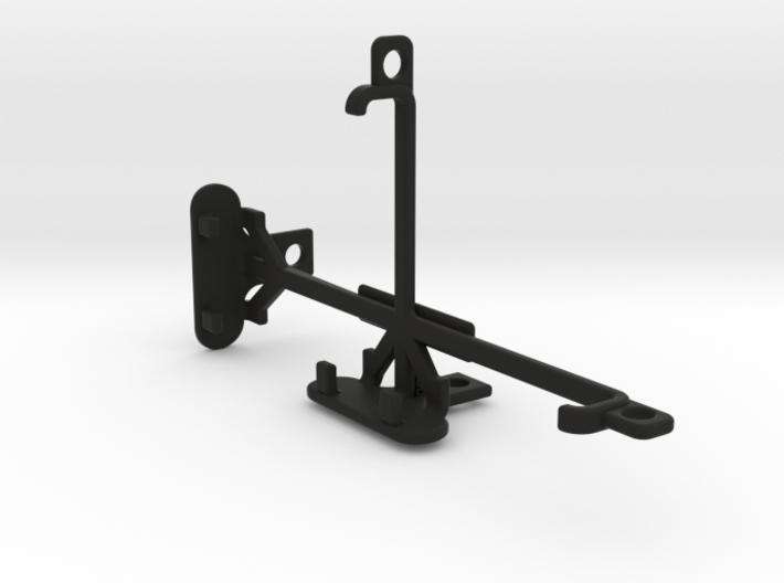 Microsoft Lumia 550 tripod & stabilizer mount 3d printed