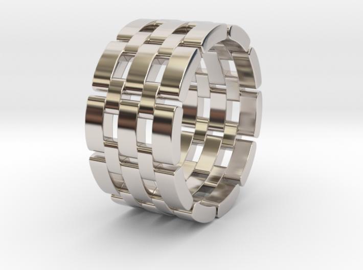 Wataru - Ring 3d printed Wataru - Ring - US 9.5