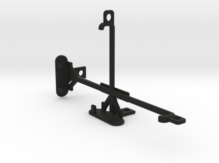 Samsung Galaxy Note 3 tripod & stabilizer mount 3d printed