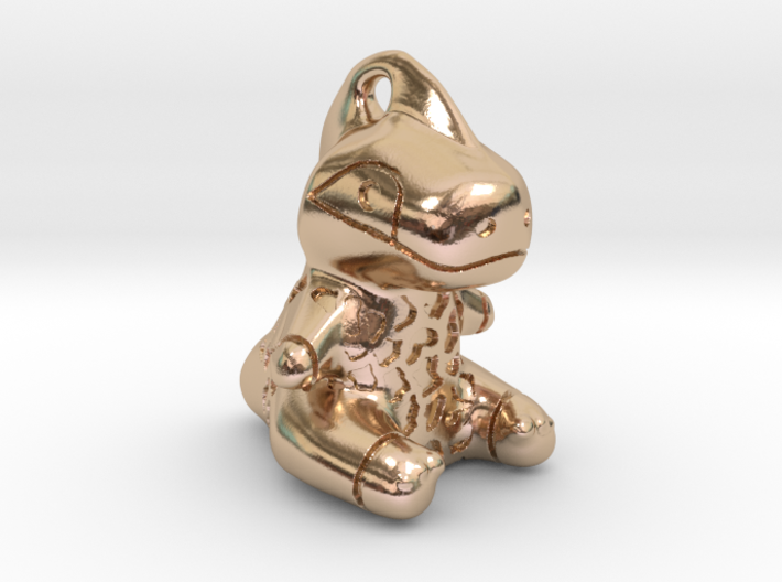Rappy Pendant 3d printed