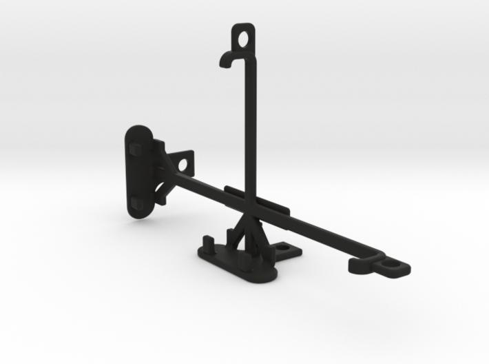 Sharp Aquos Xx tripod & stabilizer mount 3d printed