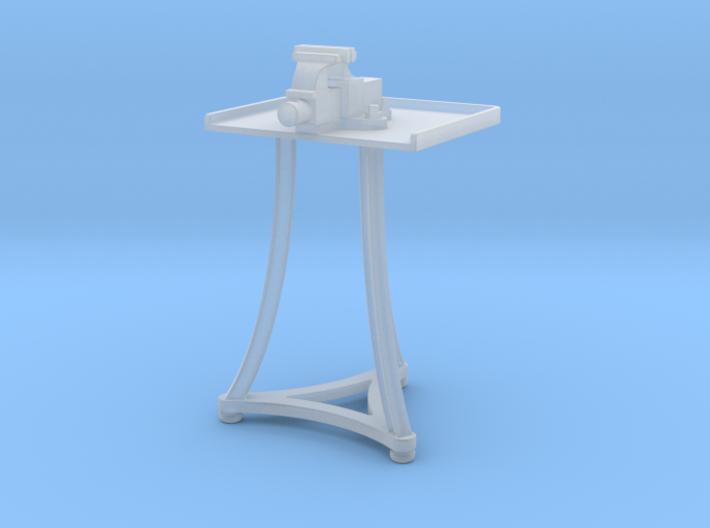 1:20.3 Blacksmith Vise Table 3d printed