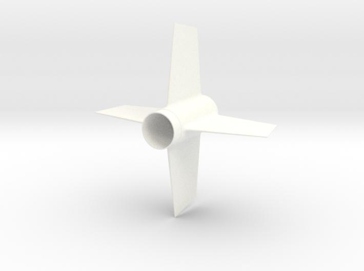 EAC Viper Fin Unit for 18mm motors 3d printed