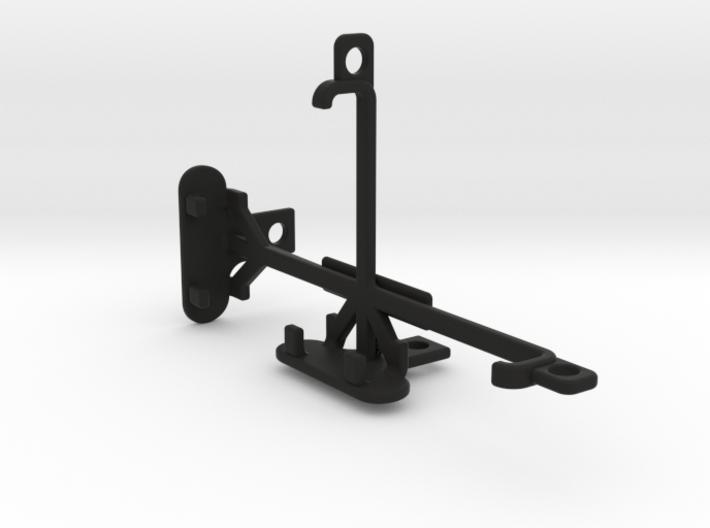 Unnecto Quattro X tripod & stabilizer mount 3d printed