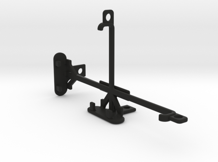 Wiko Fever 4G tripod & stabilizer mount 3d printed