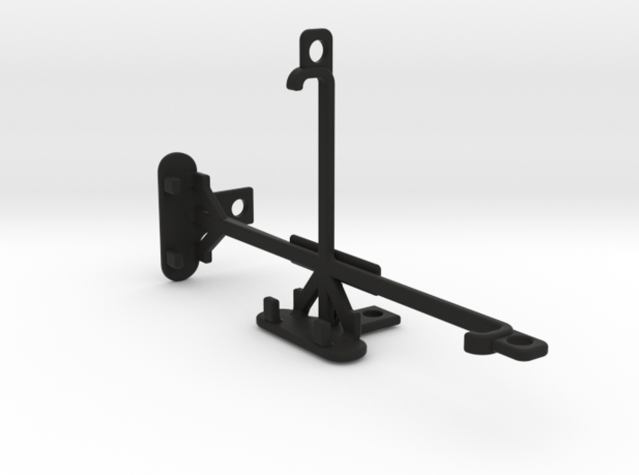 XOLO Black 1X tripod & stabilizer mount 3d printed