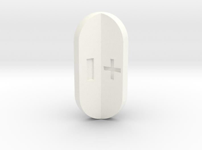 Fudge Radial Fins 3d printed