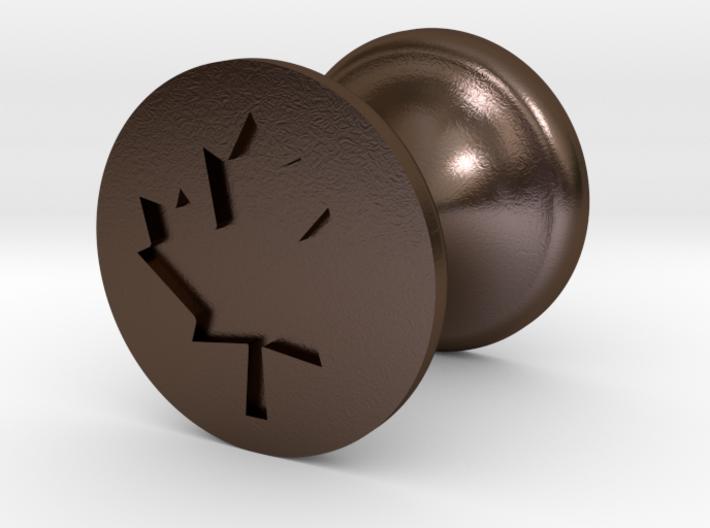 Maple Leaf Seal 3d printed
