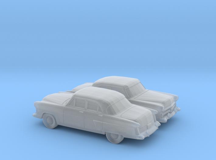 1/160 2X 1952 Ford Crestline Sedan 3d printed