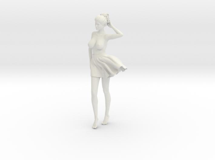 Miniskirt Girl 005-1/10 3d printed