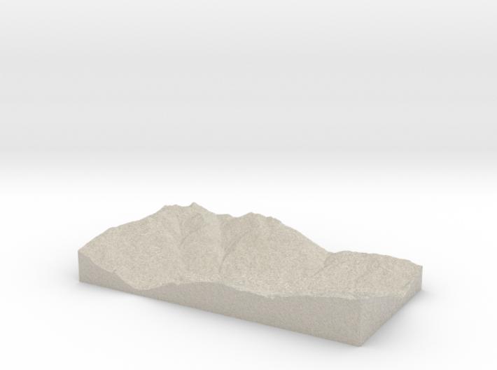 Model of Tessens 3d printed