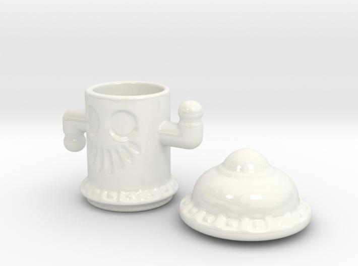 Ceramic Poltergoid 3d printed