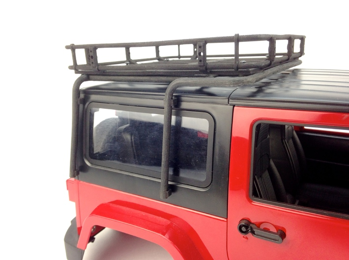 AJ10013 Modular Exo Cage 3d printed  Shown fitted to the China JK 2dr & roof Basket (SOLD SEPARATELY)