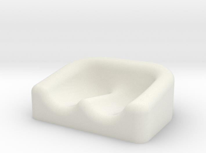 Earplug Dish 01 3d printed