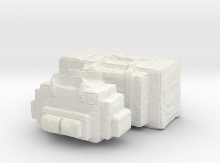 1-16 Med Tac Emerg And Firefight Gear Bag Set 3d printed