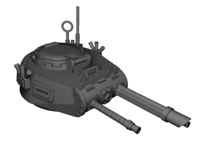 28mm Zerber APC turret + multiple guns 3d printed