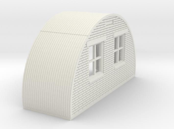 N-76-back-end-brick-nissen-hut-right-door-1a 3d printed