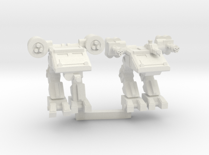 Advanced Scout Walker duo 3d printed