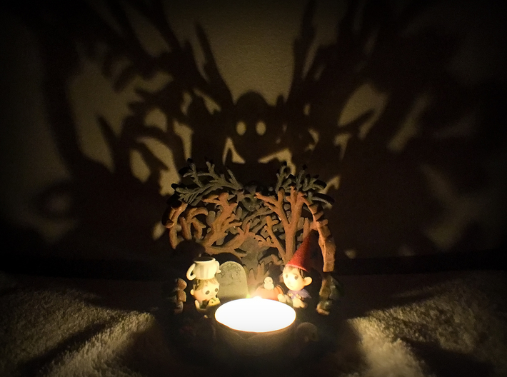 Over the Garden Wall - Shadow Projector 3d printed