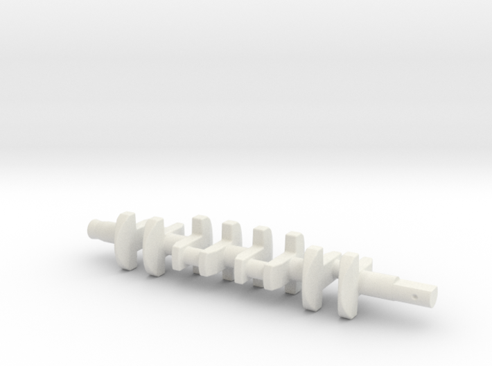 ScaledEngines_B18-crankshaft 3d printed