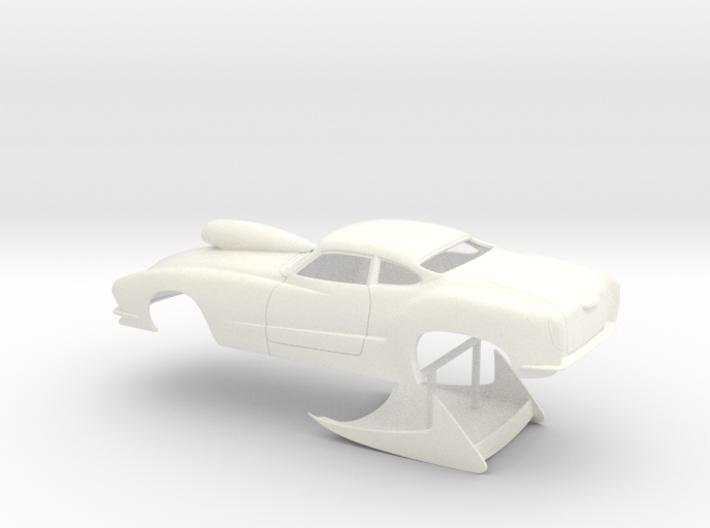 1/24 Outlaw Pro Mod Karmann Ghia 3d printed