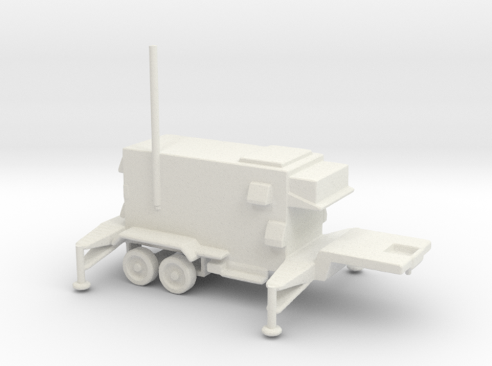 1/110 Scale Patriot Missile C2 Trailer 3d printed