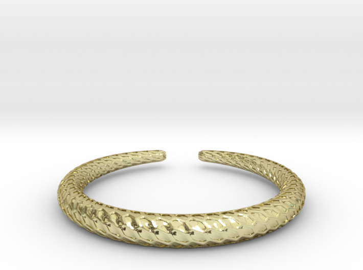 DRAGON Solid Ring, Us Size 10.5, d=20,2mm 3d printed
