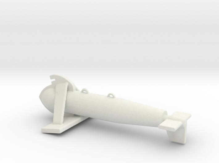 1/96 Scale Paravane 3d printed