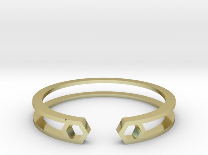 HH Bracelet Sharp, Medium Size, 65mm 3d printed