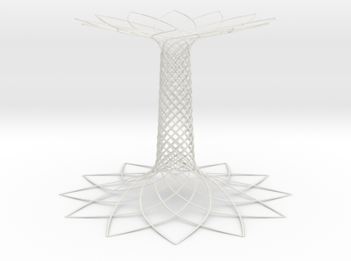 Tree of Life EXPO Milano 2015 3d printed