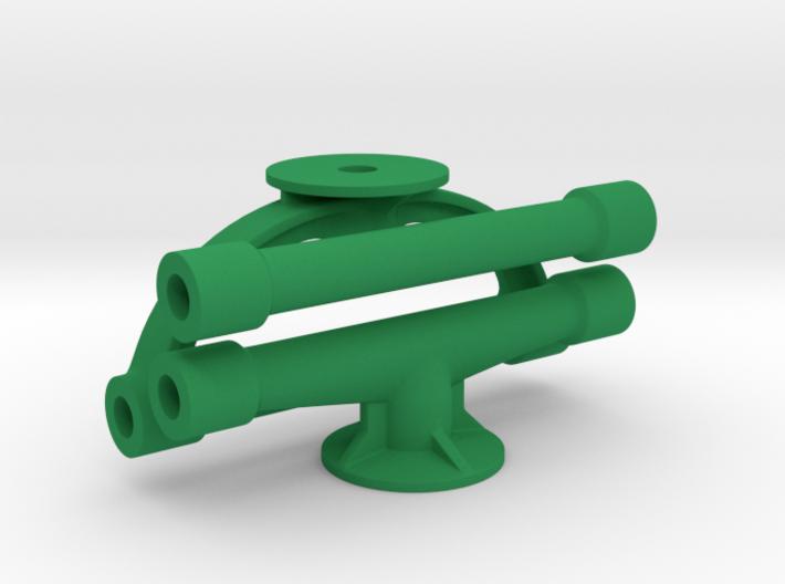 Margouillat | 3 tubes de renfort 3d printed