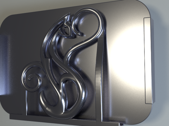 CAT_Protector Spirit_Cadiaan_CARD HOLDER_ 30 Oct  3d printed Protector _Spirit_Render03