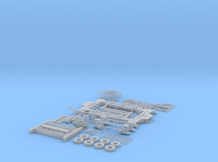 HO/1:87 Straddle Carrier, kit 3d printed