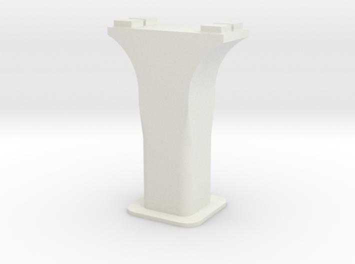 HO/1:87 Precast concrete bridge column set (small) 3d printed