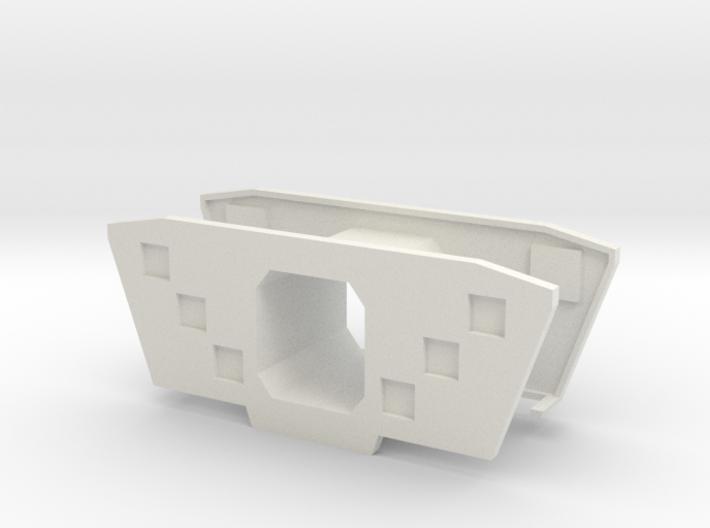 HO/1:87 Precast concrete bridge segment fill (smal 3d printed