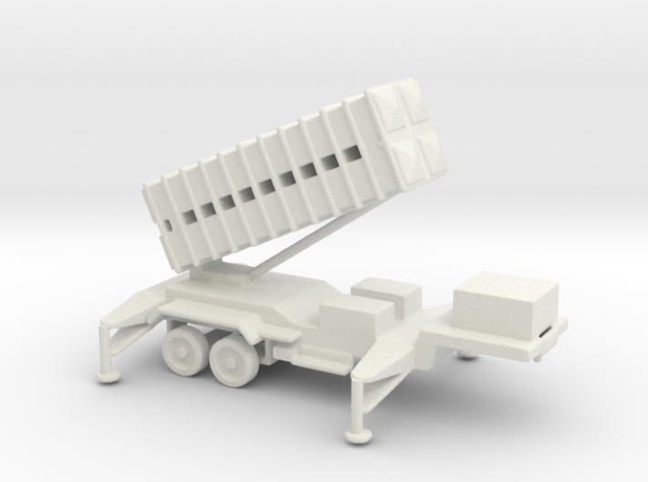 1/110 Scale Patriot Missile Launcher Trailer 3d printed